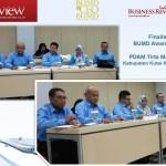 PDAM Tirta Mahakam Jadi Finalis BUMD dan CEO BUMD Award 2014