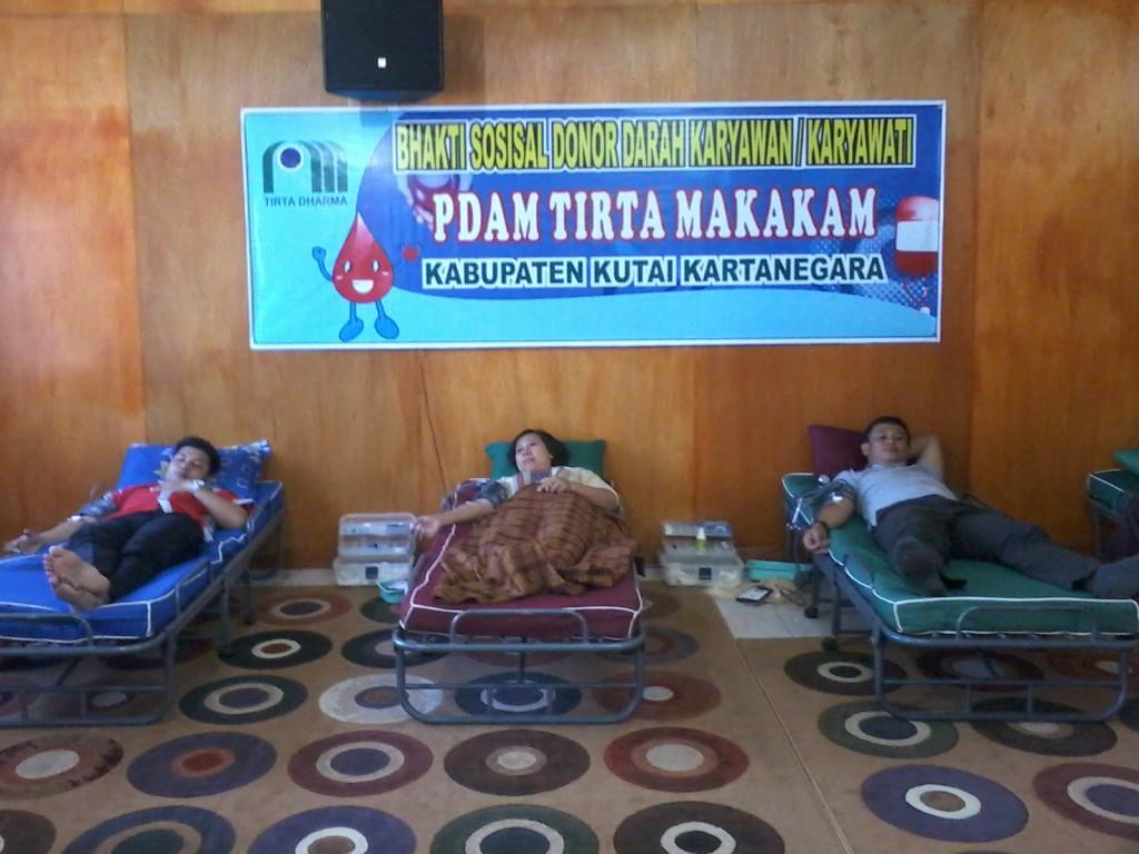 PDAM Tirta Mahakam Lakukan Donor Darah
