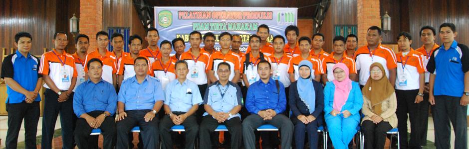 Pelatihan Operator PDAM Tirta Mahaka Angkatan VII
