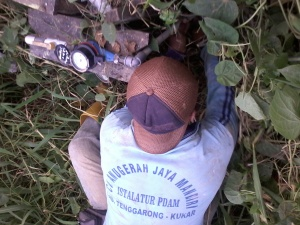 Penertiban Water Meter Ilegal