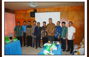 Kunjungan dari Rekan Sesama Tukang Ledeng PDAM Intan Banjar