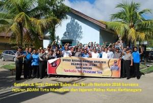 Gerakan Daerah Bebas & Bersih Narkoba 2016