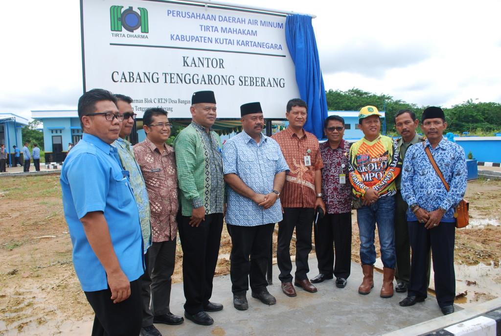 Peresmian Instalasi Pengolahan Air (IPA) di Desa Bangun Rejo Tenggarong Seberang