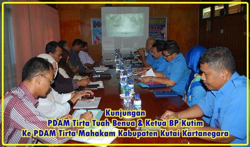Kunjungan PDAM Tirta Tuah Benua Sangatta Kabupaten Kutai Timur
