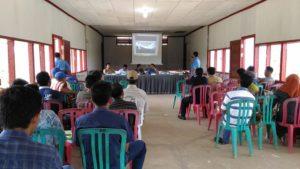 Sosialisasi Sambungan Rumah Baru Desa Bukit Raya Samboja